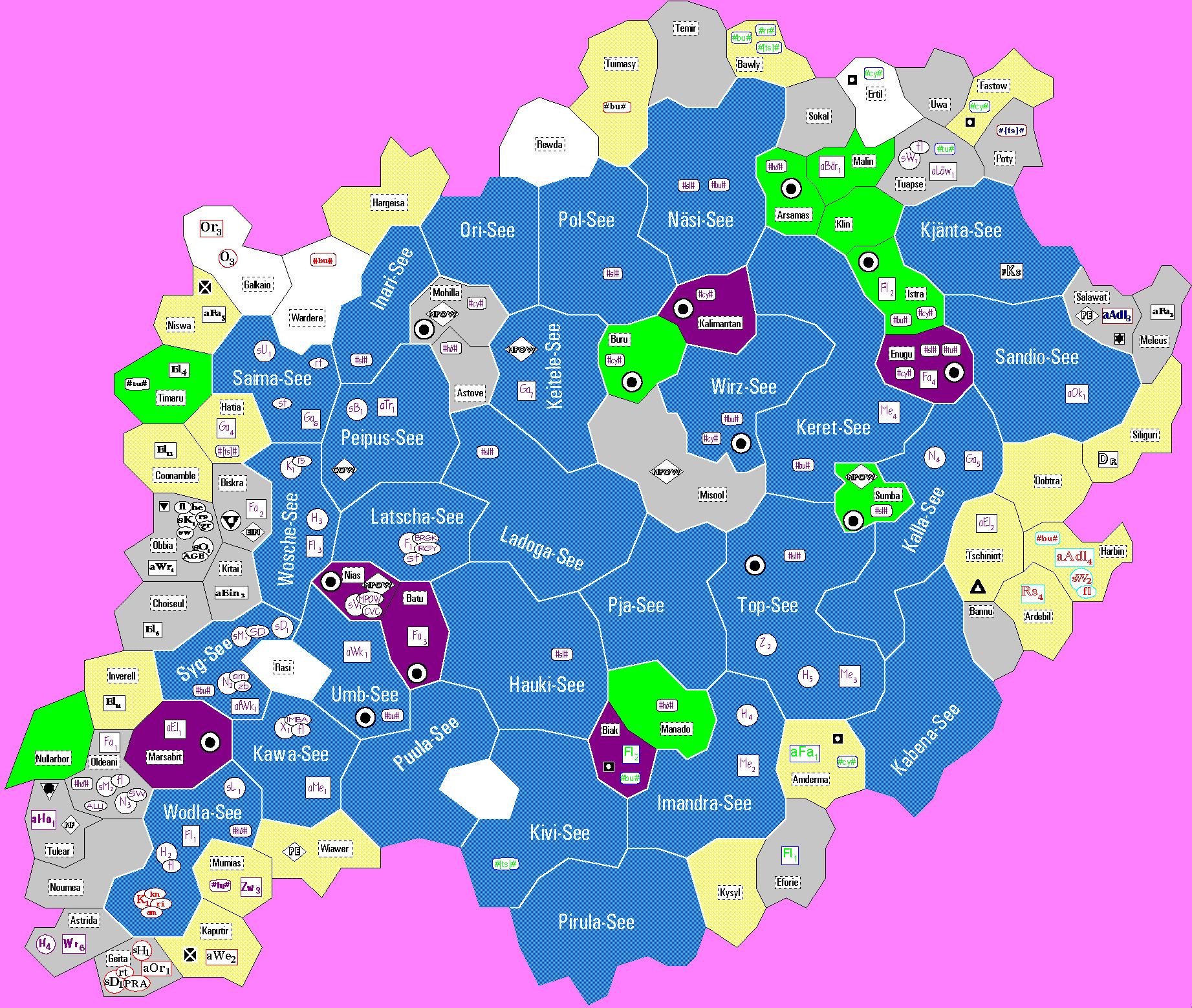 atlantis karte Thorus / Auswertungen: Nacht 08 / Karte Atlantis (groß)